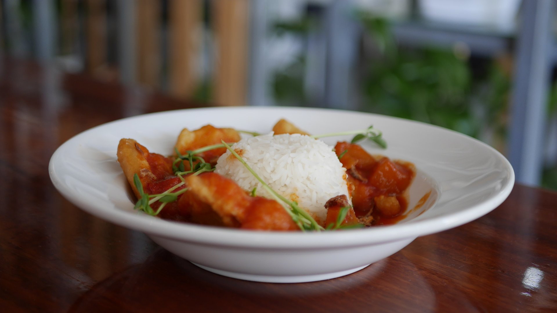 Street Eats Gallery - Singaporean Sweet, Sour & Spicy Fish w Rice - Image 3