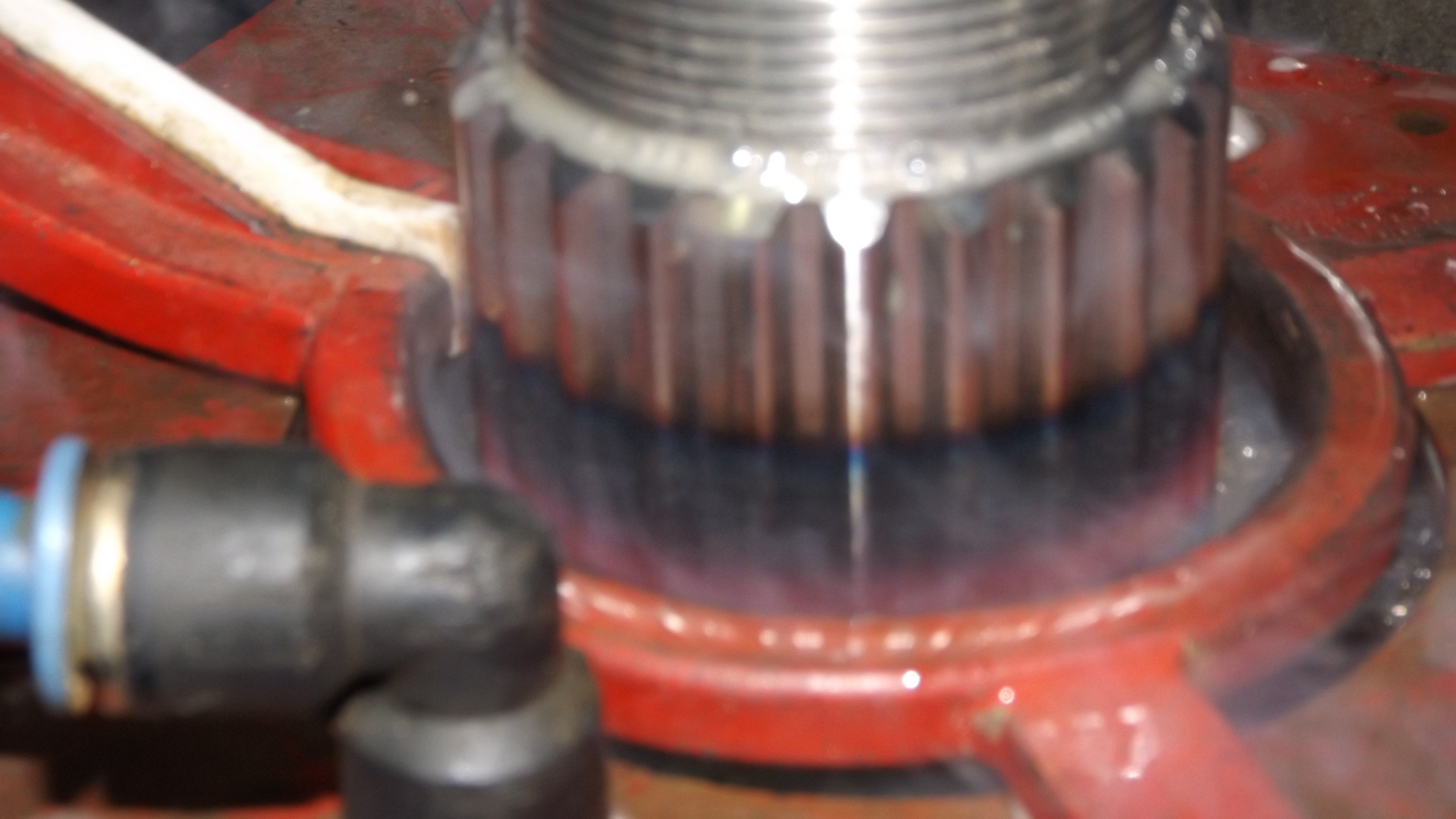 after induction heat treatment