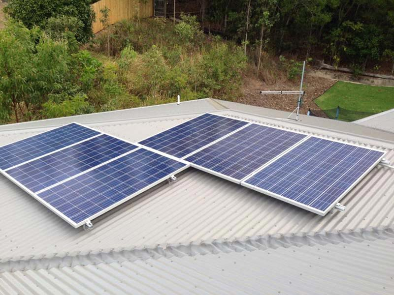 solar panel configuration