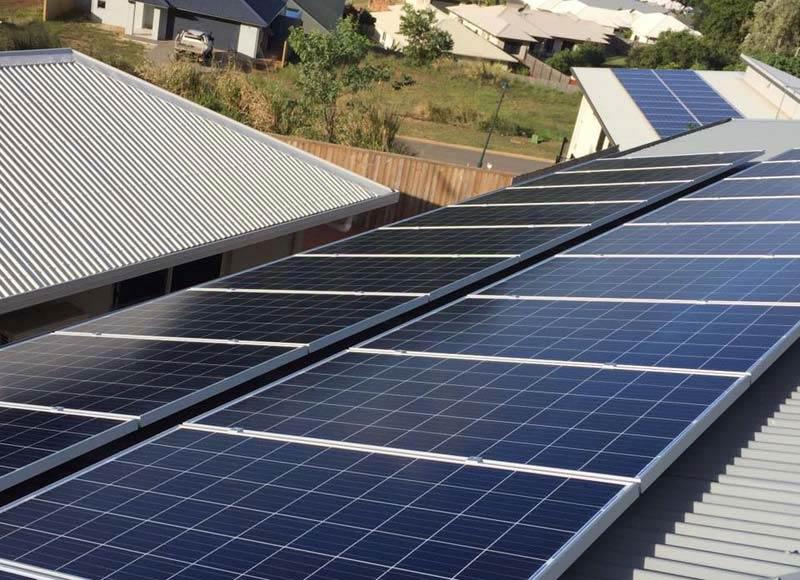 sleek solar panels