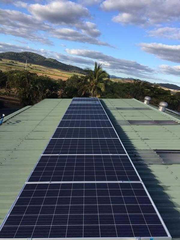 single strip solar panel