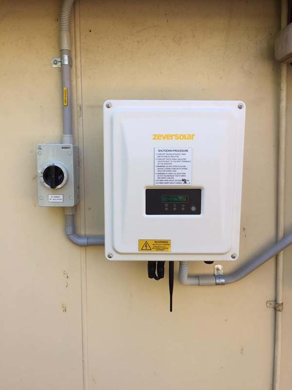 example of inverter configuration