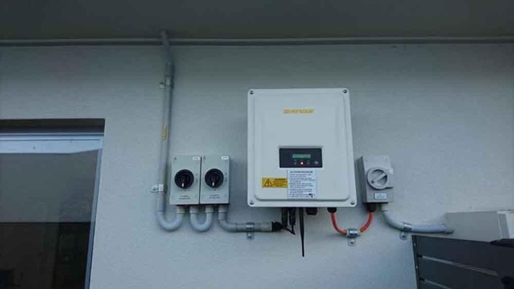 box for solar panel control