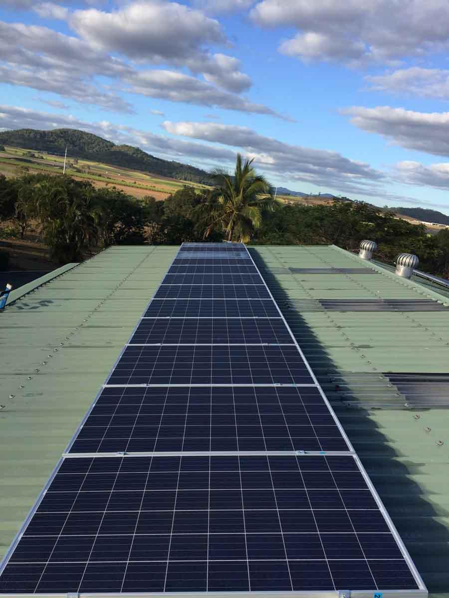solar panel strip