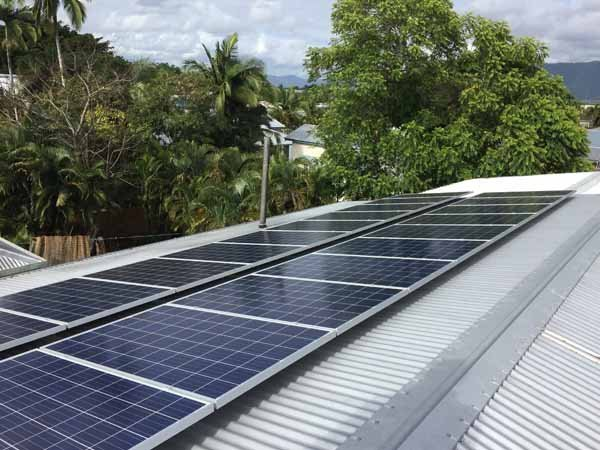 metal roofing with solar panels