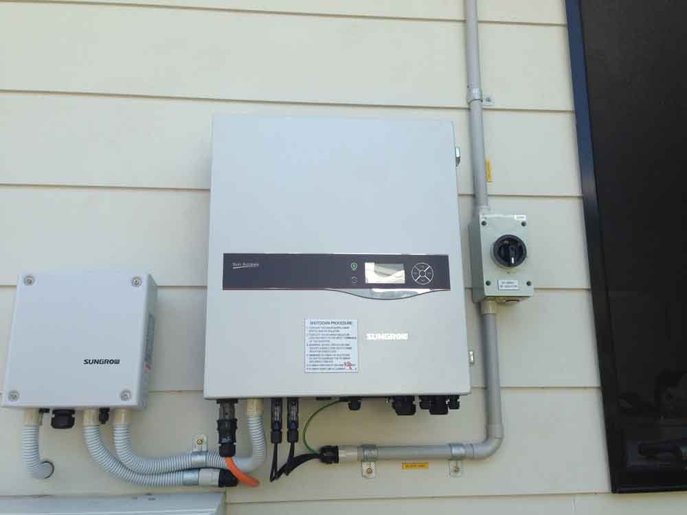 solar panel controls for business