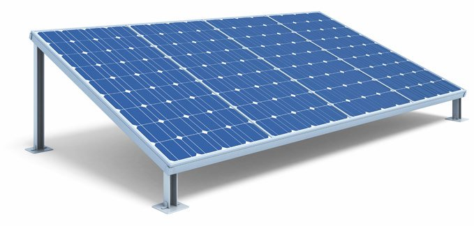 Panels used for solar power in Townsville
