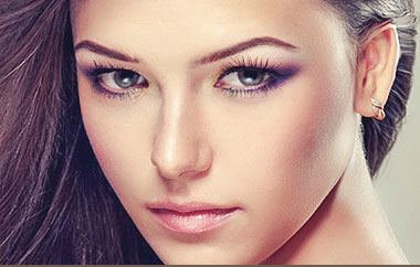 Threading of eyebrows, chin, upper lip and full face