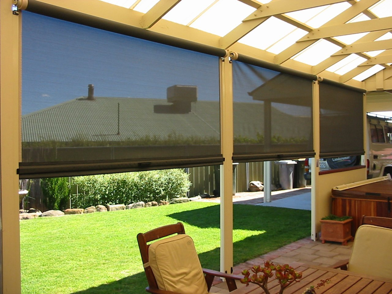 Outdoor Patio Blinds Cape Town