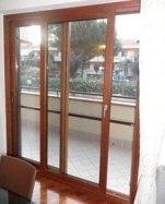 finestra a vetri