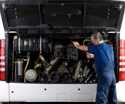 riparazione autobus, carrozzeria