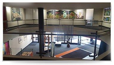 city glass tasmania pty ltd glass works at a art gallery