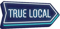 city glass tasmania pty ltd true local logo