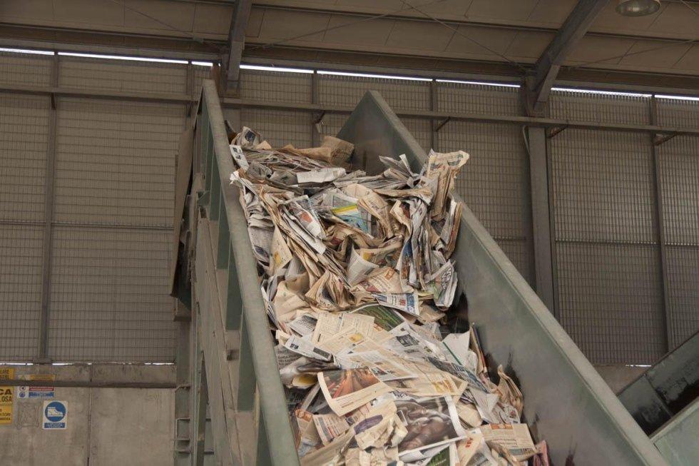 riciclaggio carta macero