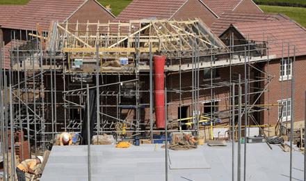 Chimney scaffolds