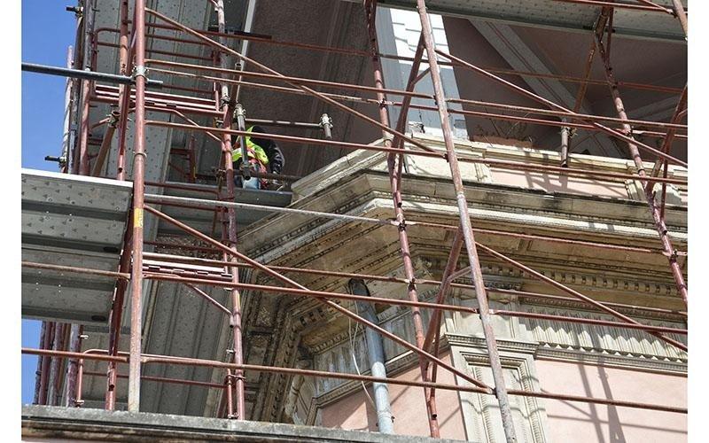Restauro ville Catania