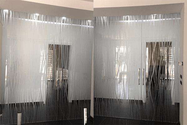 vetrate con vetri personalizzati