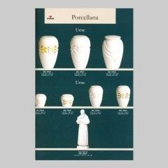 Urne in porcellana