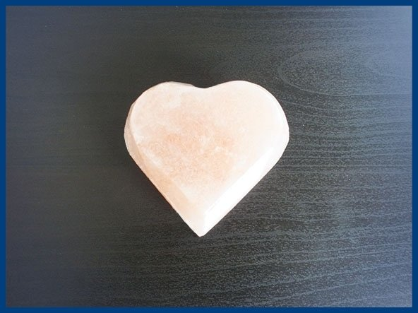 Saponetta Cuore di sale rosa himalaya