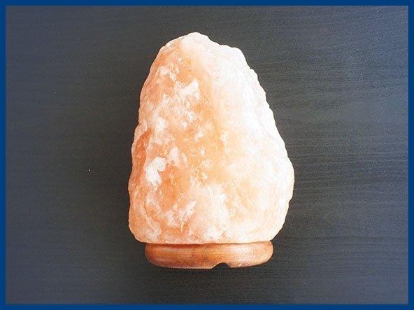 Lampada di sale naturale