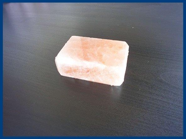 Saponetta Rettangolare di sale rosa himalaya