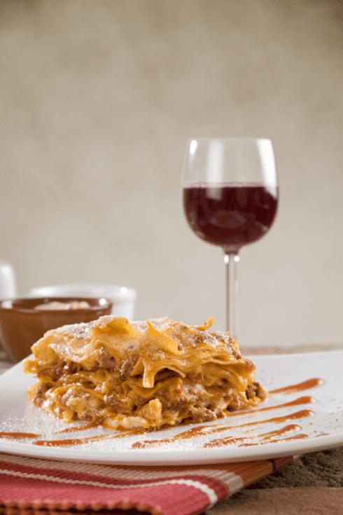 lasagne carne
