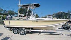 21' Sea Pro 2100V Bay Boat 2005