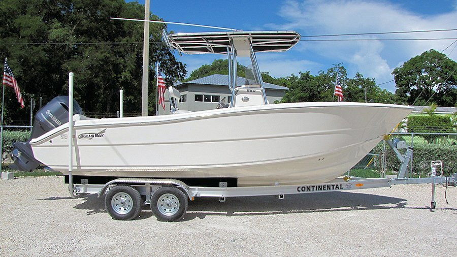 Pre-owned 23' Bulls Bay 230 Center Console 2016