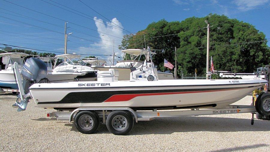 2006 22' Skeeter ZX22V Bay Boat