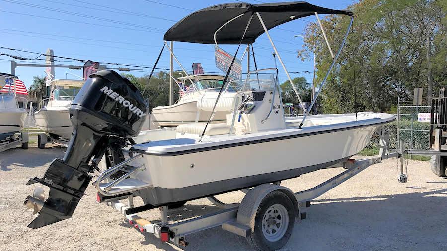 18' Mako 1801 Bay Boat 2007