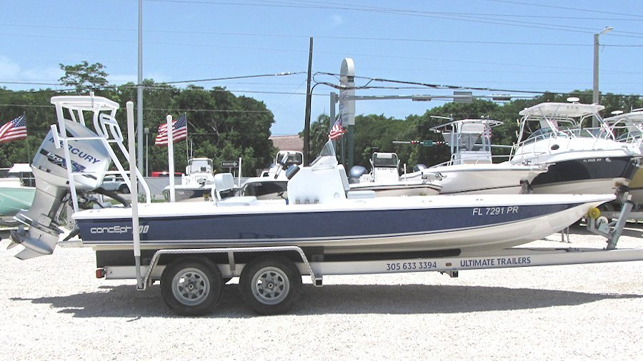 2014 20' Concept Flats Boat
