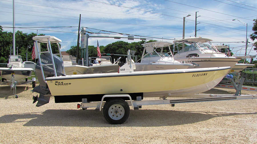 18' Sea Chaser 180 Flats Boat 2005