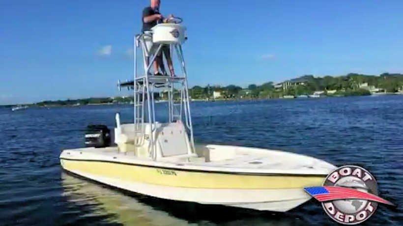 24' Triton 24 LTS Bay Boat 2007