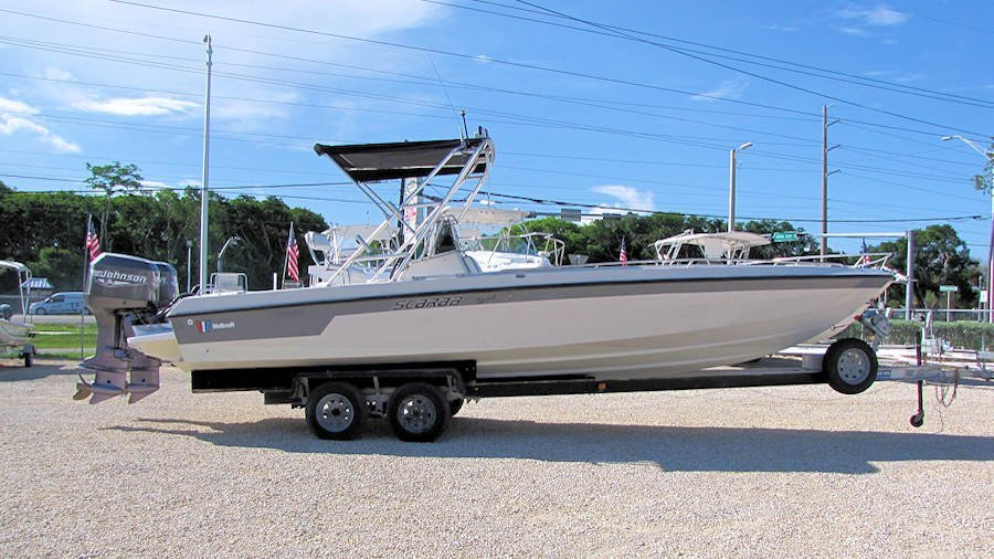 26' Wellcraft Scarab Sprint Center Console 1990