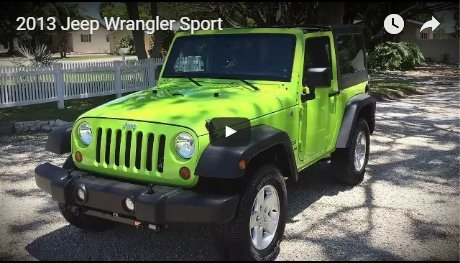 2013 Jeep Wrangler Sport for  Sale by Owner