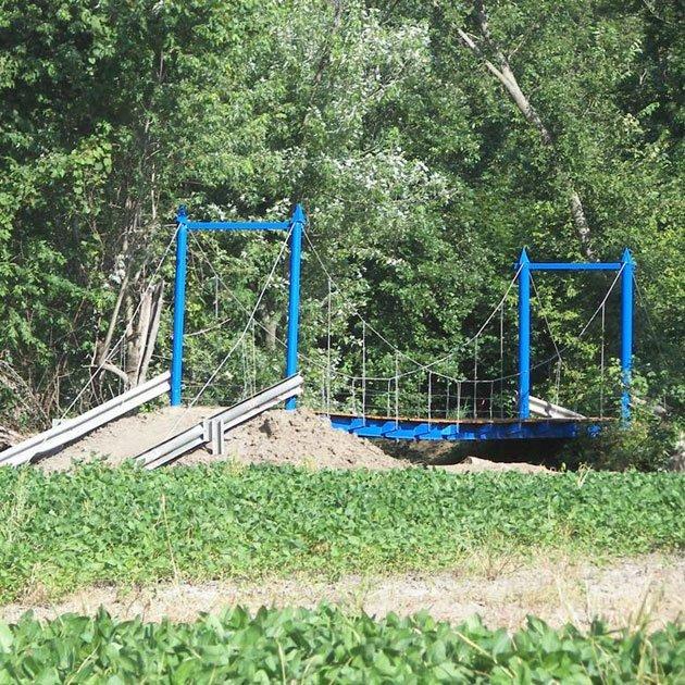 Blue Bridge at Smurfwood OHV Trails