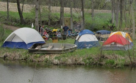 Camping Park - Tent Sites at Smurfwood Trails