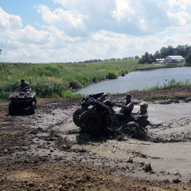 Mud Bogs at Smurfwood OHV Trails