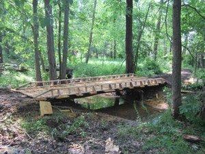 Custom Built ATV Bridges - Off Road Trails