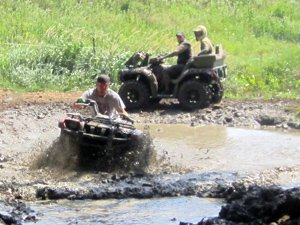 Mud Pits at Smurfwood Off Road Trails