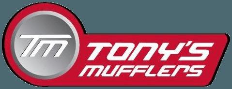 tonys muffler fitting centre logo