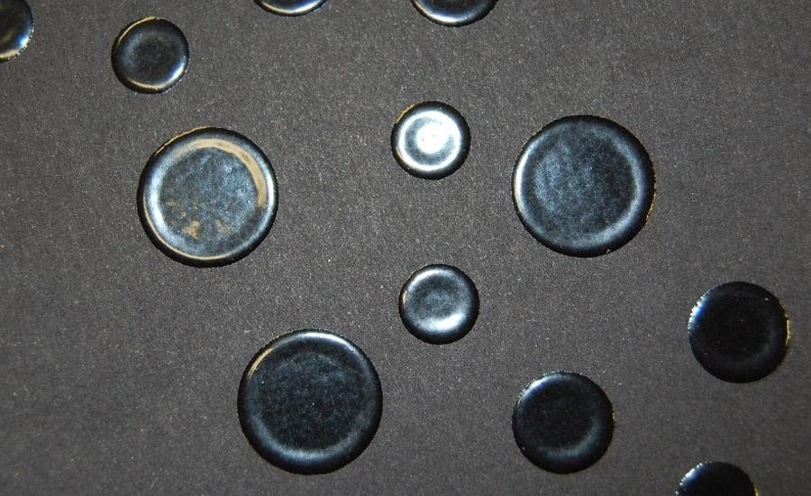UV A RILIEVO Verniciatura UV serigrafica a rilievo