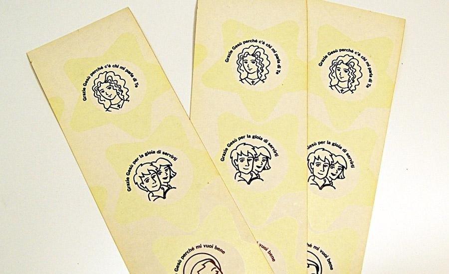 Serigrafia inchiostro luminescente Cartoncino stampa serigrafica luminescente