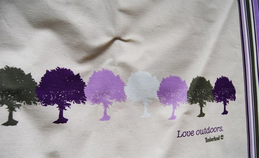 TESSUTI Stampa serigrafica monocolore su tshirt