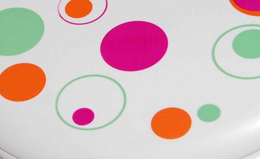 PLASTICHE Stampa multicolore su pvc