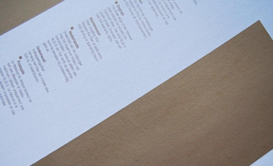 Serigrafia a pigmenti metallici Stampa serigrafica oro pallido su pvc