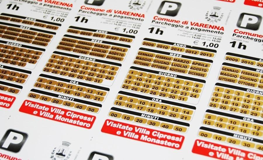 Serigrafia gratta e vinci Stampa serigrafica gratta & vinci (scratch off) oro