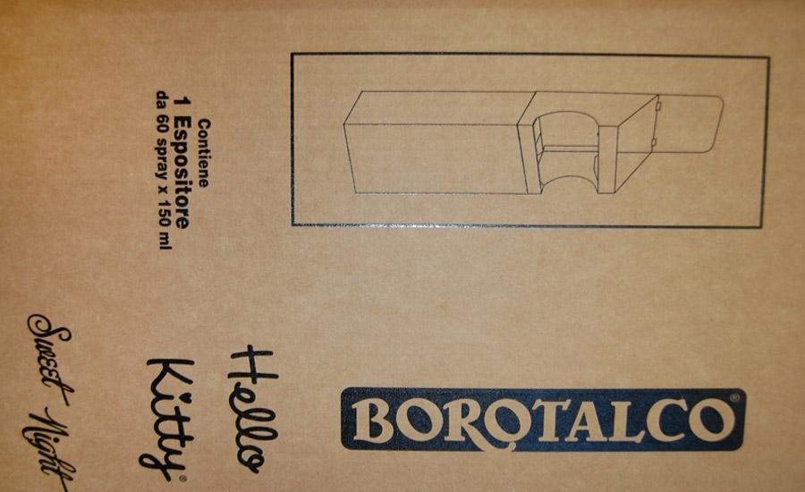 CARTA E CARTONE Stampa serigrafica monocolore su cartone avana tripla onda