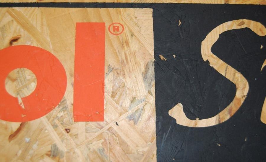 LEGNO Stampa serigrafica multicolore su pannello di legno