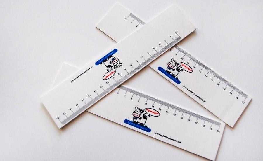 FUSTELLATURA Stampa 3 colori su polipropline bianco da 1 mm